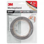3M Power-Klebeband grau<br>19 mm x 5 m